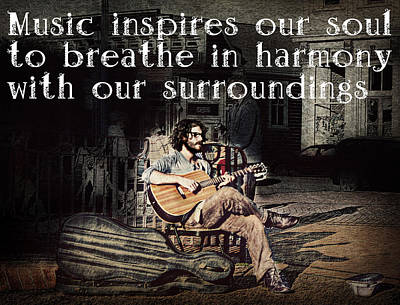 Musical Inspiration Art Print by Melanie Lankford Photography