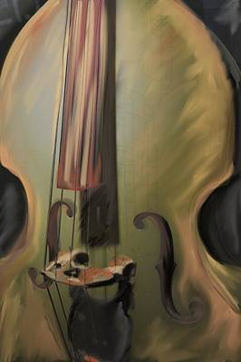 Musical Instrument-strings Original by Laurie Pike