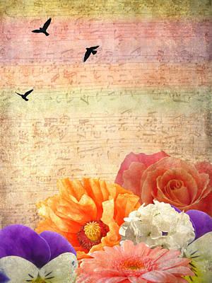 Musical Light Print by Sharon Lisa Clarke