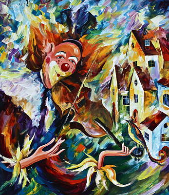 Musical Maturity  Original by Leonid Afremov