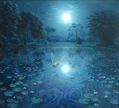 Painting - Musical Moonlight by Tuco Amalfi