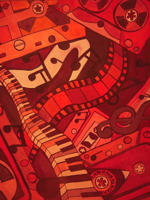 Musical Movements Art Print by Chelsea Allen