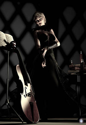 Musical Muse Art Print