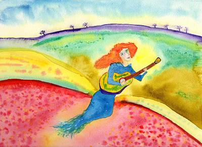 Painting - Musical Spirit 10 by Jim Taylor