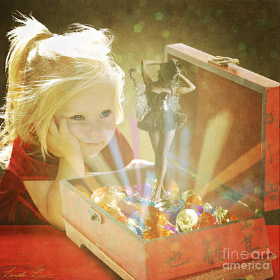 Digital Art - Musicbox Magic by Linda Lees