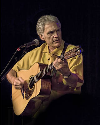 Folk Singer Photograph - Musician And Songwriter Verlon Thompson by Randall Nyhof