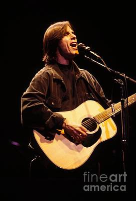 Jackson Browne Photograph - Musician Jackson Browne by Concert Photos