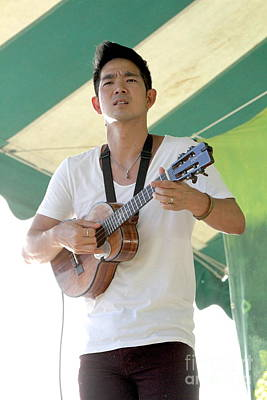 Concert Ukulele Photograph - Musician Jake Shimabukuro by Concert Photos