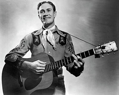 Photograph - Musician Lefty Frizzell by Underwood Archives