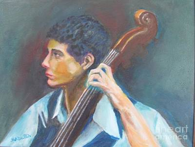 Painting - Musician  by Marcia Dutton