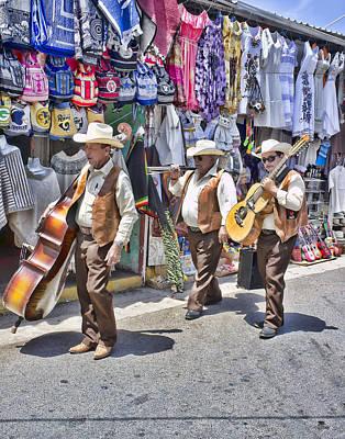 Musicians Royalty Free Images - Musicians La Bufadora Royalty-Free Image by Hugh Smith