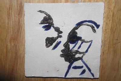 African Ceramicist Ceramic Art - Musicman - Tile by Gloria Ssali