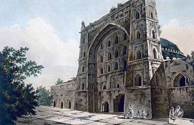 Subcontinent Painting - Musjid At Jaunpur by William Hodges