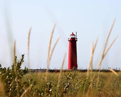 Photograph - Muskegon South Pierhead Lighthouse by George Jones