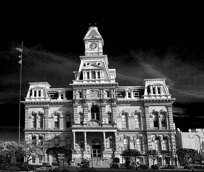 Photograph - Muskingum County Courthouse by David Yocum