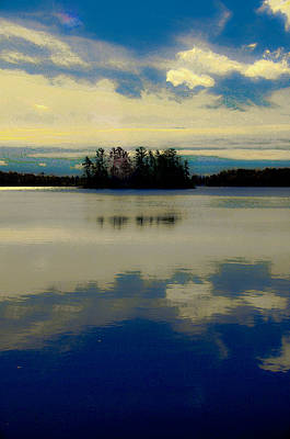 Photograph - Muskoka Island by Douglas Pike