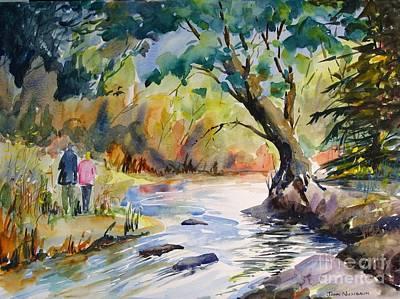 Painting - Muskoka Stroll by John Nussbaum