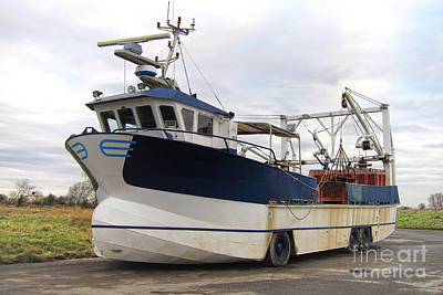 Mussels Photograph - Mussel Boat by Olivier Le Queinec