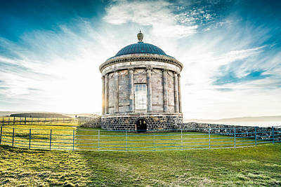 Photograph - Mussenden Temple by George Pennock