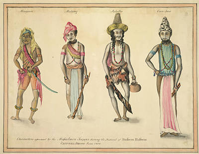 Mussulmen Seapoys Art Print by British Library