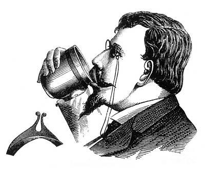 Mustache Guard 1872 Art Print