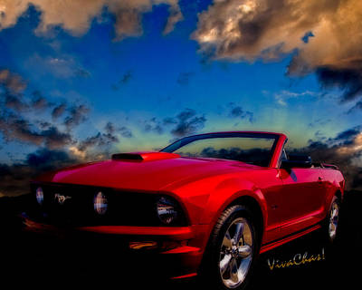 American Dream Photograph - Ford Mustang Dream by Chas Sinklier