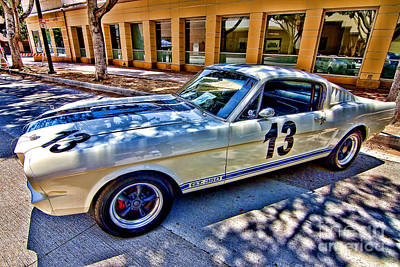 Photograph - Mustang Gt 350 by Jason Abando