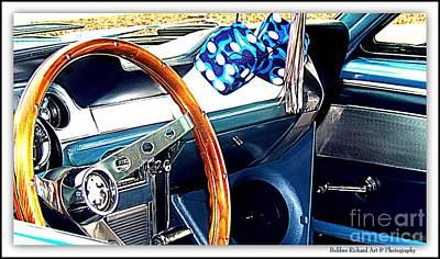 Photograph - Mustang Interior by Bobbee Rickard
