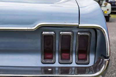 Mustang Lights Art Print