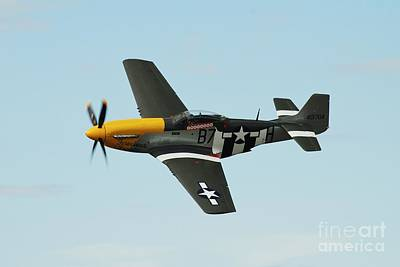 Photograph - Mustang P-51d Fighter by David Fowler