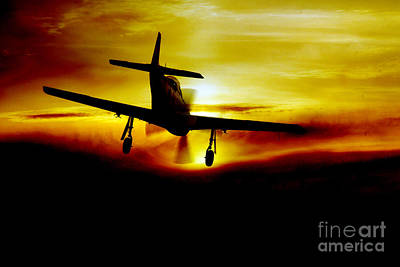 North American P51 Mustang Digital Art - Mustang Recovery by J Biggadike