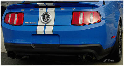 Photograph - Mustang Shelby Cobra Gt 500 by James C Thomas