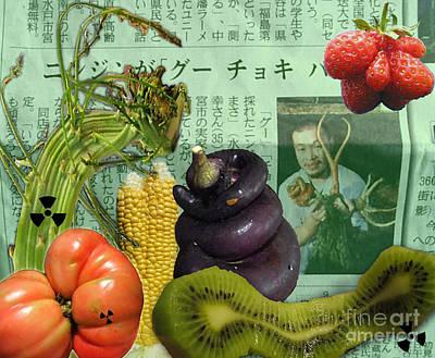 Strawberries Digital Art - Mutant Veggies by Megan Dirsa-DuBois