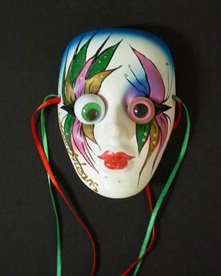 Mutated Mardi Mask Art Print