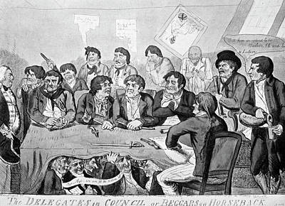 Mutiny At The Nore, 1797 Art Print by Granger