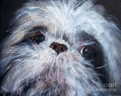 Mutual Admiration Art Print by Mary Lynne Powers