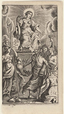 Somer Drawing - Mv Somer Fecit, Matthias Von Somer by Artokoloro
