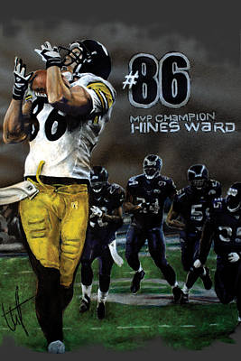 Mvp Hines Art Print by William Western