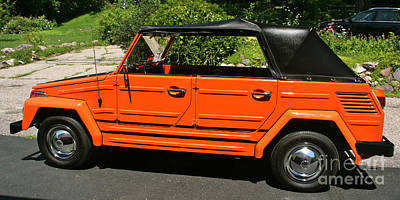 Photograph - My '73 Vw Thing by Joan McArthur