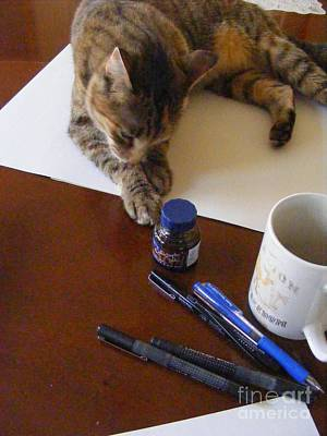 Photograph - My Art Assistant by Nancy Kane Chapman
