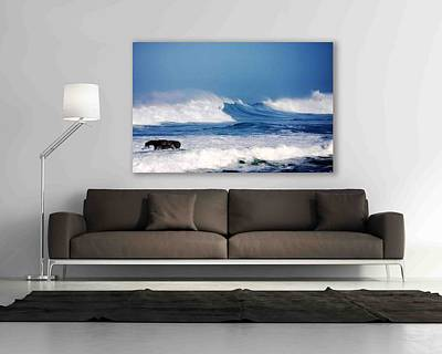 Photograph - My Art Your Wall Wild Blue by Kandy Hurley