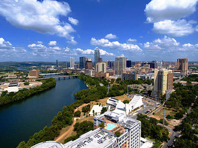 Lady Bird Lake Photograph - My Austin II Without Borders by James Granberry