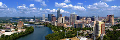 Photograph - My Austin Skyline No Signature Text by James Granberry