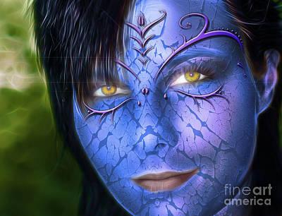 My Avatar Art Print by Bruno Santoro