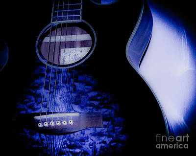 Rock And Roll Photograph - My Baby Blue  by Kathleen White