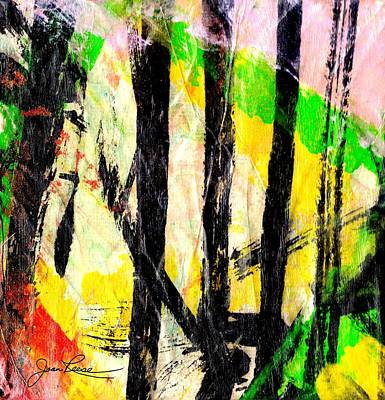 Painting - My Bamboo Garden by Joan Reese