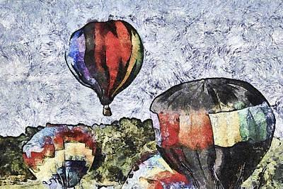 Photograph - My Beautiful Balloon by Trish Tritz