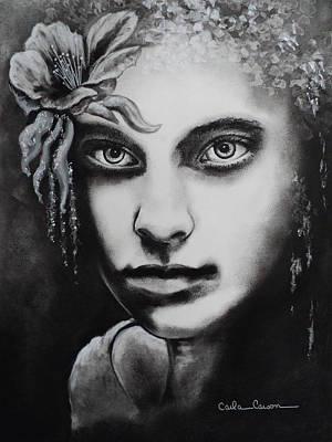 My Beautiful Belladonna Art Print