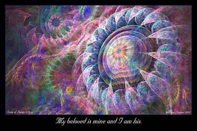 Digital Art - My Beloved by Missy Gainer