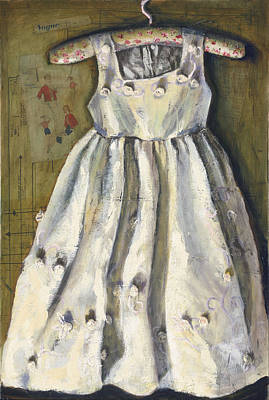 Painting - My Best Dress by Gaye White